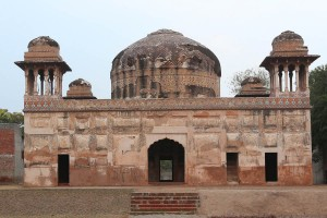 The tomb of Dai Anga, the wet nurse of Emperor Shah Jahan. -- Photos by Rahat Dar