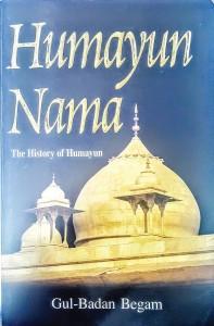 The title of an English translation of Humayun Nama.