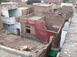 Salam's house in Jhang