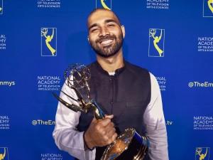 Asad Faruqi at the Emmys 2019