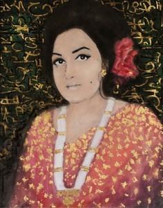 Painting by Nazia Ejaz.