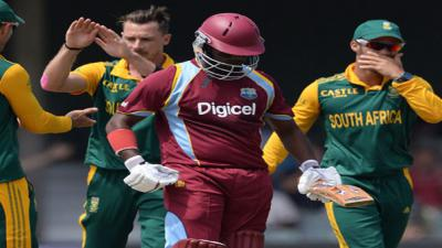 West Indies bowled out for 122