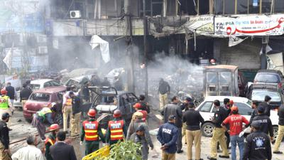 Five killed in blast outside Police Lines in Lahore