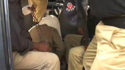 Police capture fleeing target killer in rapid response