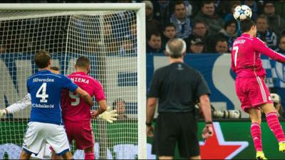 Real beat Schalke, Porto and Basel draw