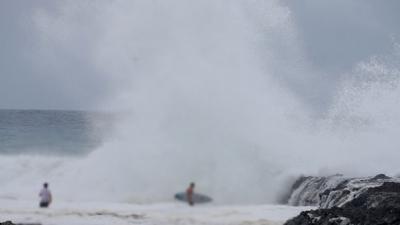 Powerful Cyclone Marcia makes landfall in Australia
