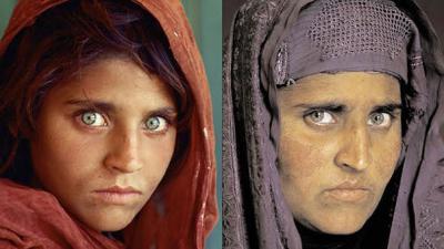 'Mona Lisa of Afghan war' resurfaces in Peshawar