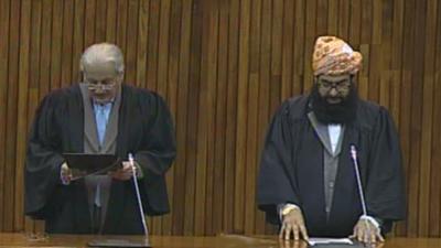 Chairman Senate, Deputy sworn in