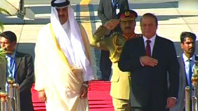 Emir of Qatar arrives in Islamabad on two-day visit