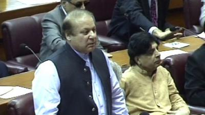 Parliament should guide government on Yemen: PM Nawaz