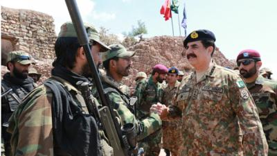 COAS visits frontline troops in Khyber, says nation united with forces