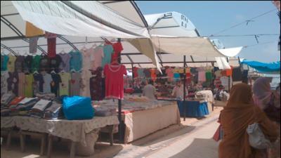 Largest Sunday Market razed in Karachi