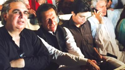 I am here to break the shackles of fear, claims PTI chief