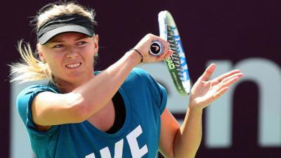 Sharapova to spearhead Russia against Germany