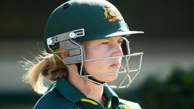 Meg Lanning named Wisden's leading woman cricketer