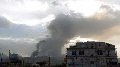 Coalition air strikes hit Yemen defence ministry: witnesses