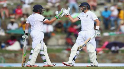 Bell hits century as England take control
