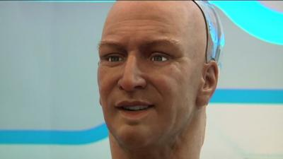 Humanoid robot can recognize and interact with people