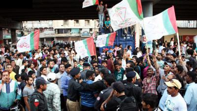 Official results announced, landslide victory for MQM in NA-246