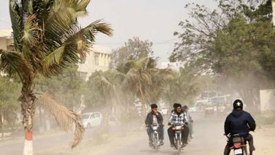 Karachi braces for strong winds