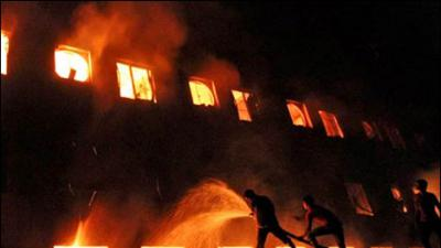 Karachi factory fire put out after 5 hours