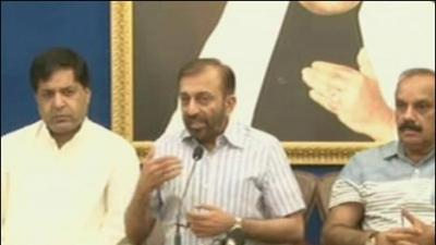 MQM not named in DG Rangers report, says Farooq Sattar