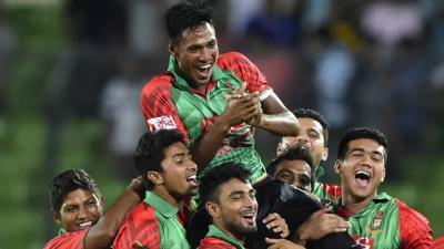 Bangladesh create history, beat India in ODI series