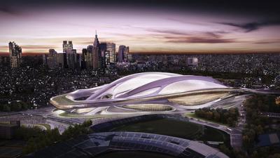 Tokyo Olympic stadium cost hits $2 billion