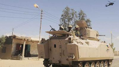 Shell kills two children in Egypt´s Sinai