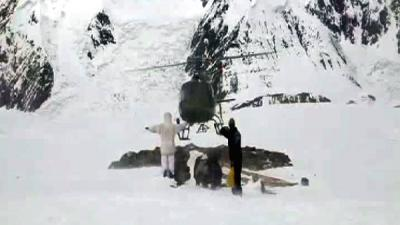 Army helicopter rescues Slovenian climber from Karakoram