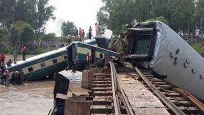 Gujranwala train accident result of over speeding: report