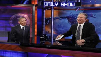 Obama to appear on one of Jon Stewart's final 'Daily Show' episodes
