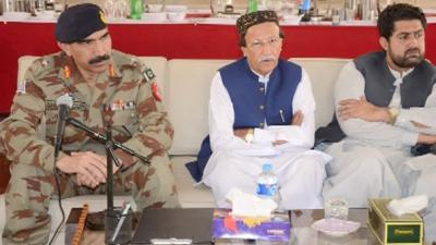 Terrorists have no option but to surrender or die: IG FC