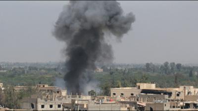 Syria army pushes back rebels near regime heartland: monitor