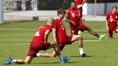 Champions Bayern set sights on record fourth straight title