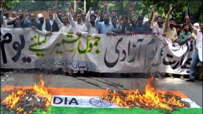 Kashmiris observe Indian independence day as 'black day'