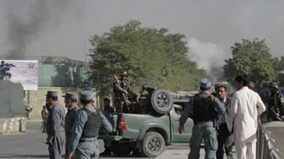 Explosions at Afghan gas terminal kill 10 children