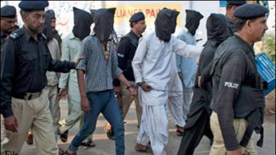 14 Afghan nationals among 131 suspects held in Peshawar