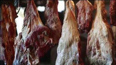 Huge quantity of substandard meat seized in Punjab