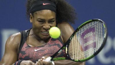 Serena trumps sister to keep calendar slam on track