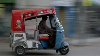 Pakistani entrepreneurs launch 'Uber for rickshaws'