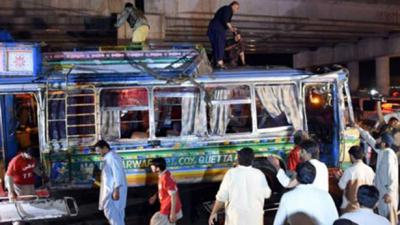 Case registered of Quetta bus bombing