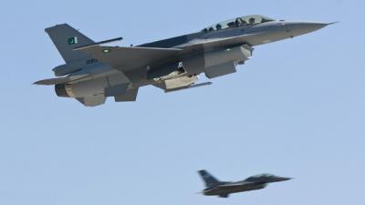 Military jets pound militant dens in Tirah valley; 21 killed