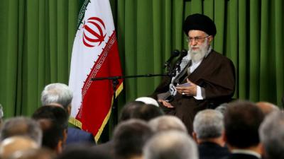 Iran leader says fresh elections needed in Syria