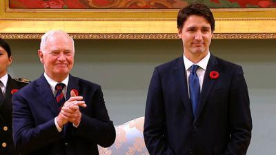 Justin Trudeau sworn in as Canada´s prime minister