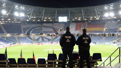 Germany 'freedom' match called off over bomb threat
