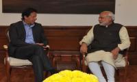 Imran Khan meets Indian PM Modi in Delhi