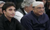 Zardari, Bilawal to run separate parties: sources