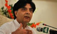 War against terrorism not over yet: Nisar