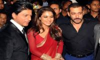 SRK, Salman and Kajol seen together again at Stardust Awards